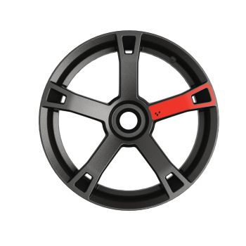 Wheel Decals - Adrenaline Red