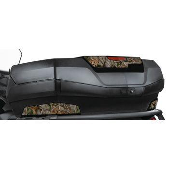Camo-tarrat mustalle takalaukun paneelisarjalle