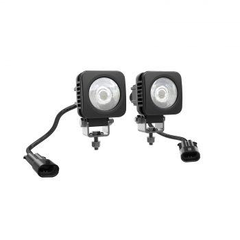 5 CM:N NELIKULMAISET LED-VALOT (2 X 10 W)