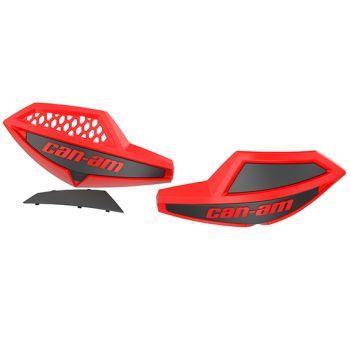 Ohjaustangon tuulenohjaimet (Viper Red)